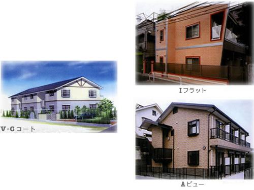 建和の新築集合住宅施工例