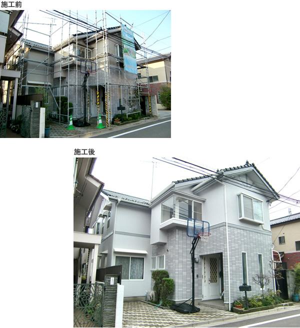 一戸建 外壁塗装工事 施工例3