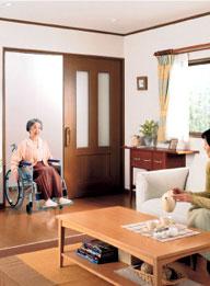 段差なし車椅子