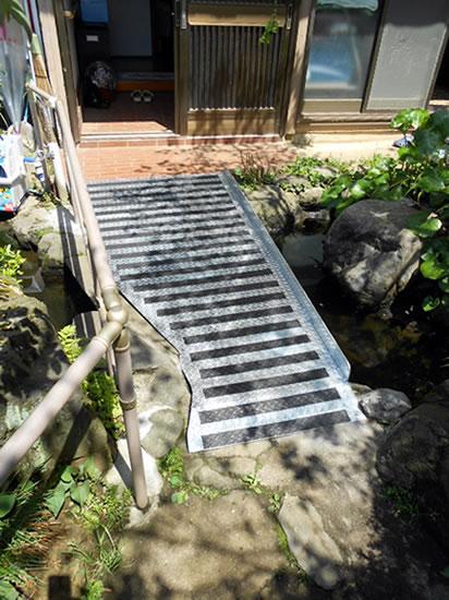 スロープ施工例【リフォーム建和】